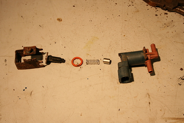 Toyota Sienna Evaporative Canister (P0446) and SVS Valve Repair or