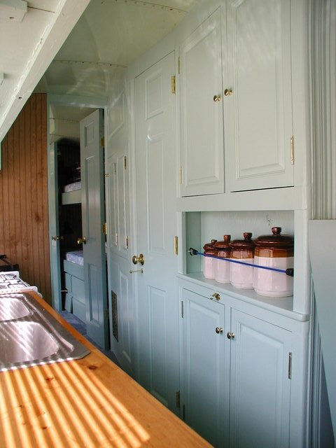 Victorian RV - Galley