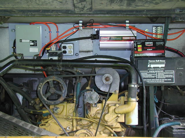 rv electrical panel