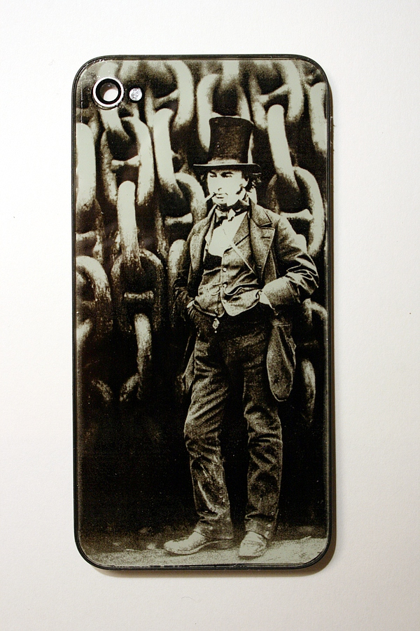 isambard kingdom brunel iphone back
