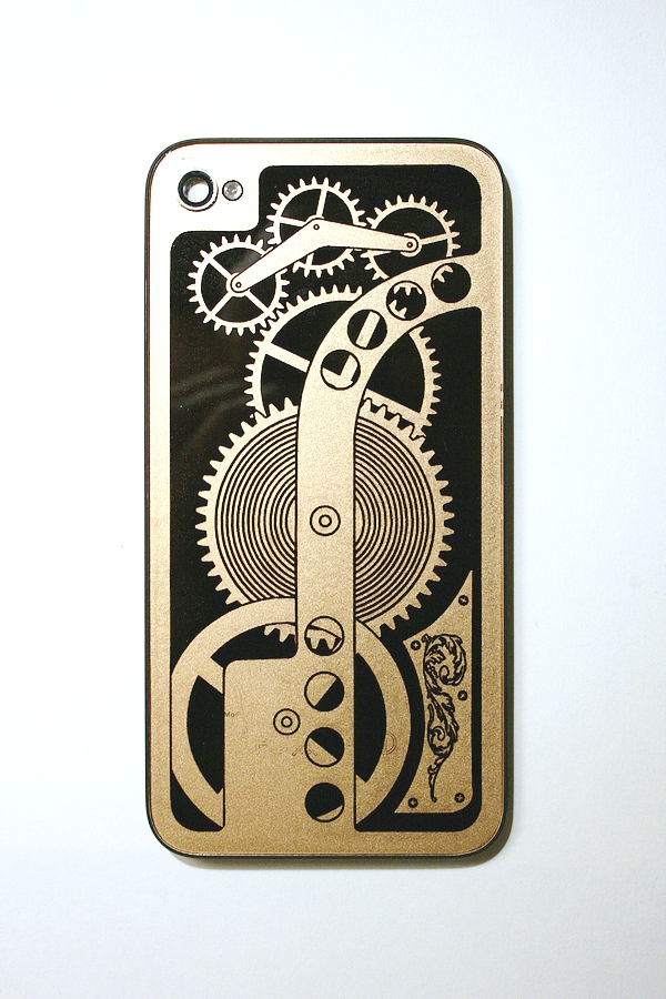The Steampunk Workshop iPhone back glass
