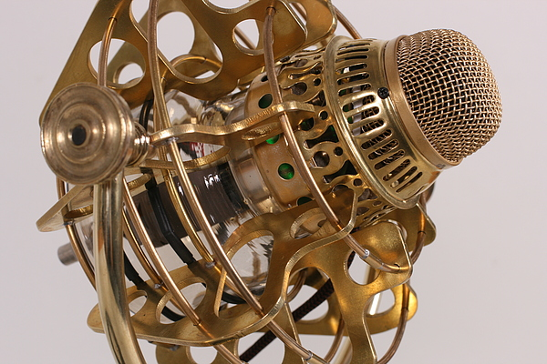 Girl Genius Radio Theater Steampunk Microphone