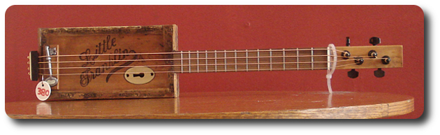 cigar box guitar The Franklin