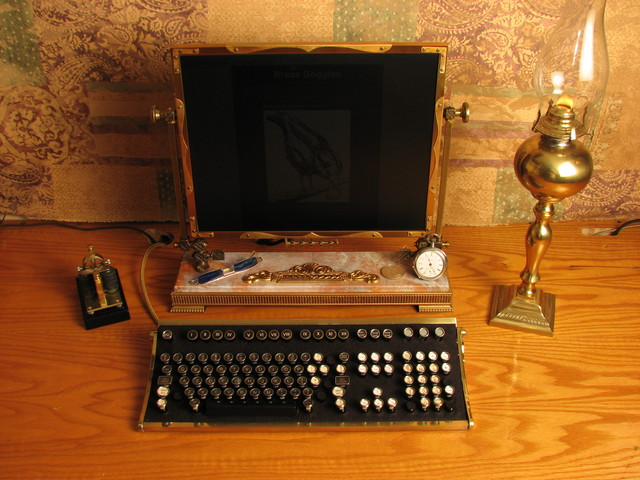 the steampunk desktop