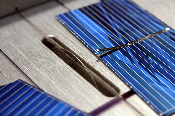Mini Dremel Table Saw For Cutting Solar Cells