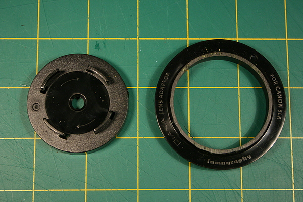 Putting an old lens on a Canon EOS Digital Rebel Xti