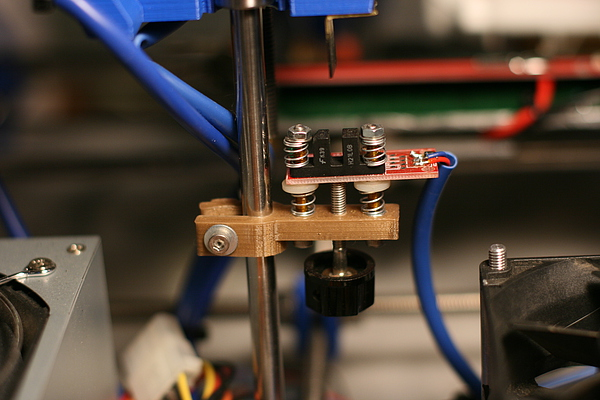 micro-adjustable RepRap end stop