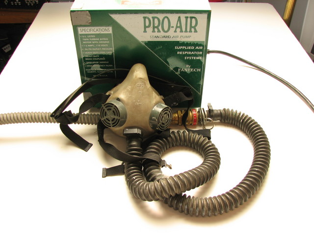 pro-air supplied air respirator system
