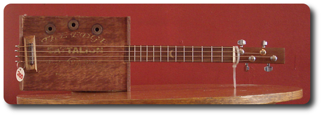 cigar box guitar The Edge