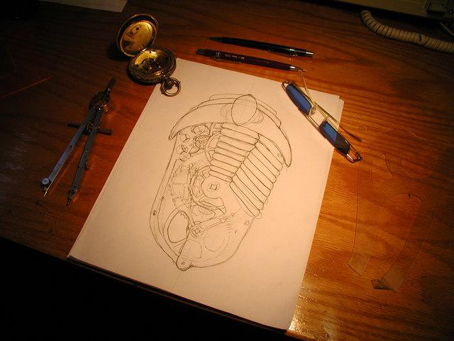 the original trilobyte sketch