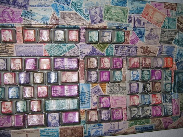 stamp keyboard
