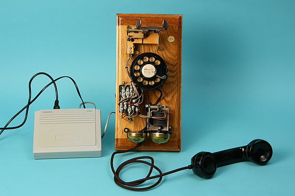 NorthStar ATA2 connected to rotary dila phone