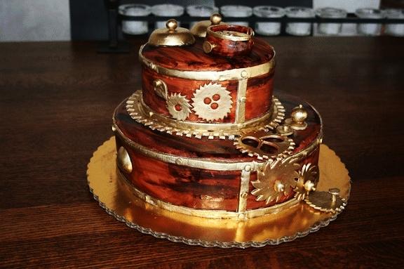 Babycakes Steampunk Cake