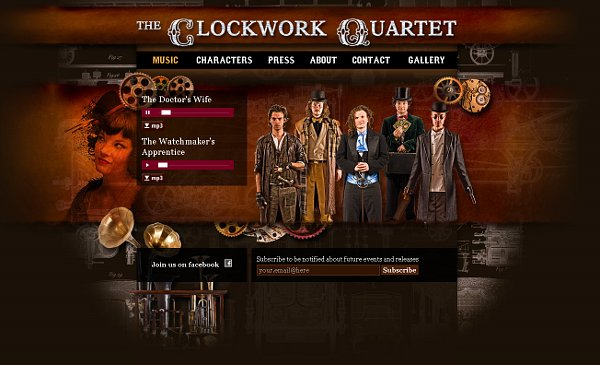 The Clockwork Quartet