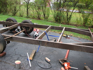 welder trailer frame