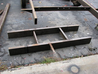strengthening trailer frame