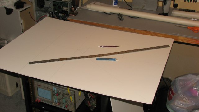 cutting foam board