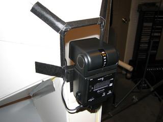 slave flash mounted