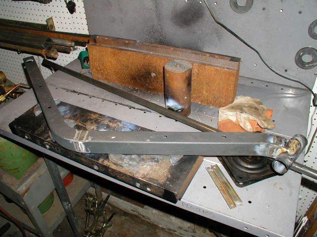 fwd frame welding