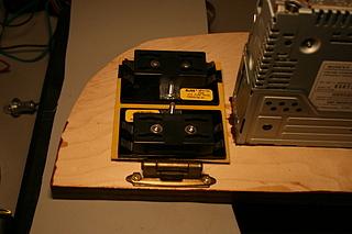 hinged fuse panel