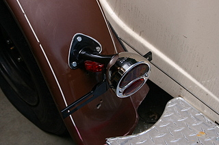 model a taillights with side markers