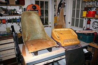 fiberglass seat shell