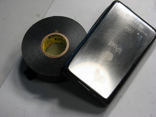 tape ipod edges