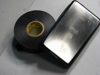 tape ipod edges