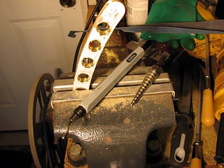 drilling brass with a step drill