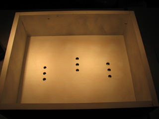 lightbox vent holes