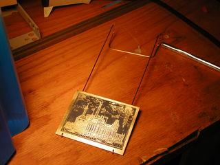 brass plate holder