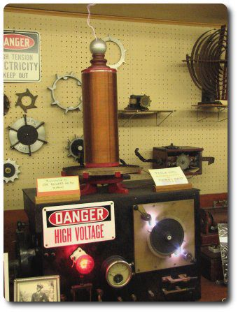 1 kw spark gap transmitter