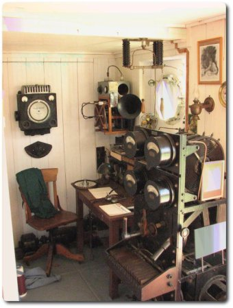ship radio room
