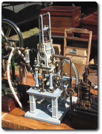 victorian steam engine model