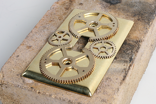 Soldering Gears - Steampunk Decor