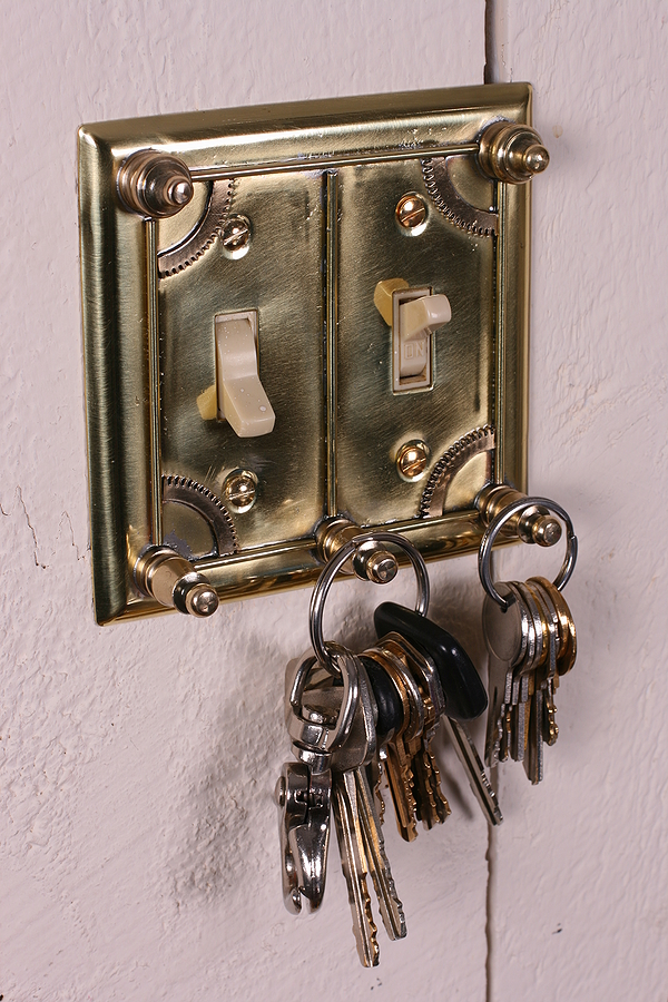 Steampunk Key holder