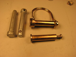 linch pins and hitch pins