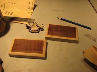 wood bases for telegraph sounder
