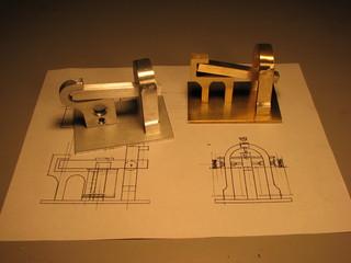 semi-finished telegraph sounders