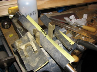 brass sanding with buck
