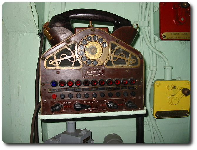 Phone aboard USS Salem