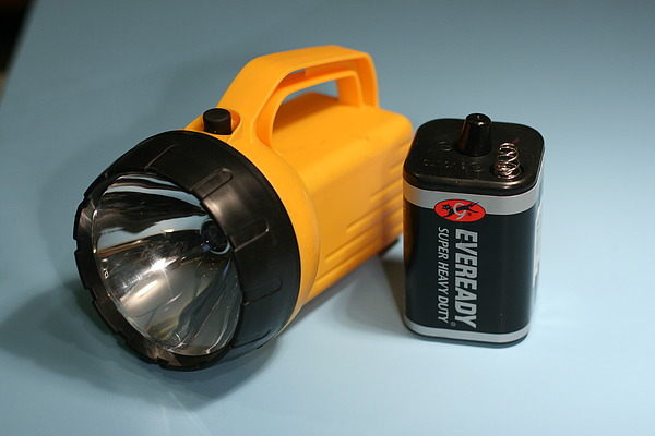 Flashlight Battery Voltage